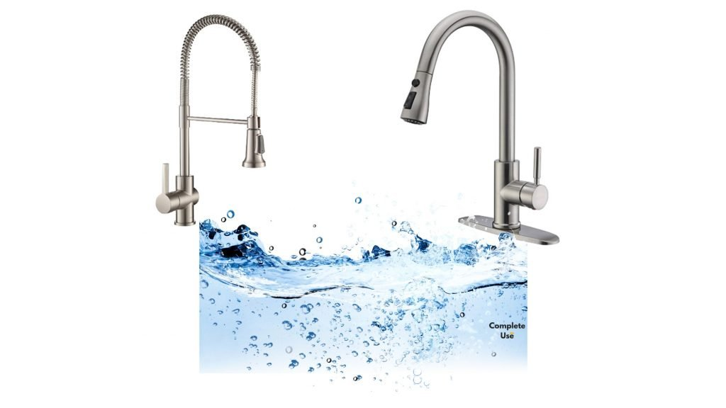 Kitchen Faucet Flow Rate Complete Use