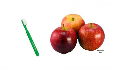 What foods are okay to eat after brushing teeth at night?